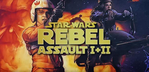 STAR WARS™: Rebel Assault I + II - Cover / Packshot