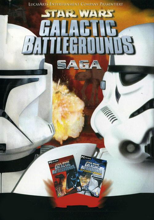 STAR WARS™ Galactic Battlegrounds Saga - Cover / Packshot