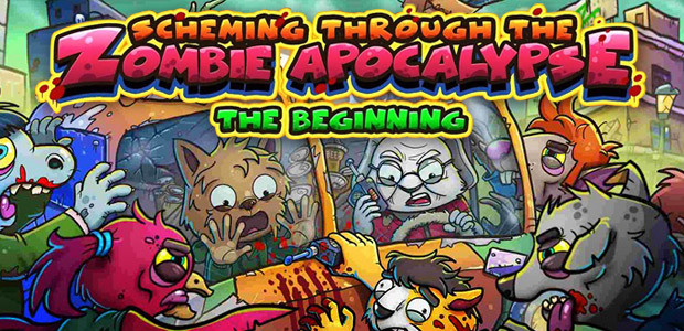 Scheming Through The Zombie Apocalypse: The Beginning - Cover / Packshot