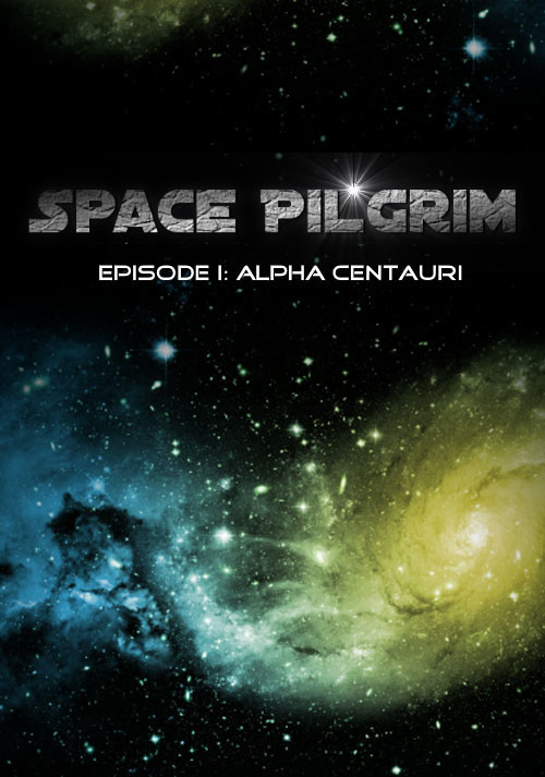 Space Pilgrim Episode I: Alpha Centauri - Cover / Packshot