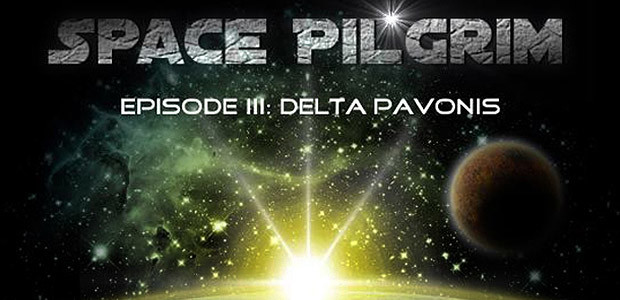 Space Pilgrim Episode III: Delta Pavonis - Cover / Packshot