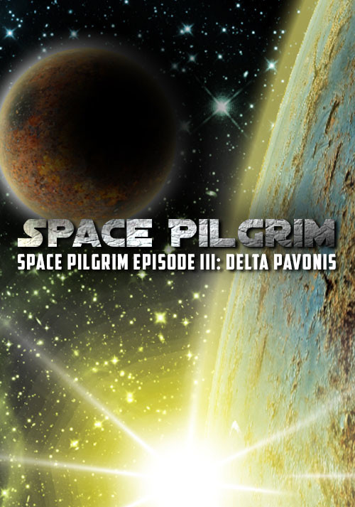 Space Pilgrim Episode III: Delta Pavonis - Cover / Packshot
