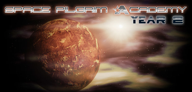 Space Pilgrim Academy: Year 2 - Cover / Packshot