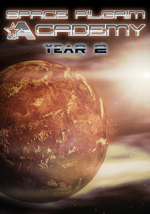Space Pilgrim Academy: Year 2 - Cover / Packshot