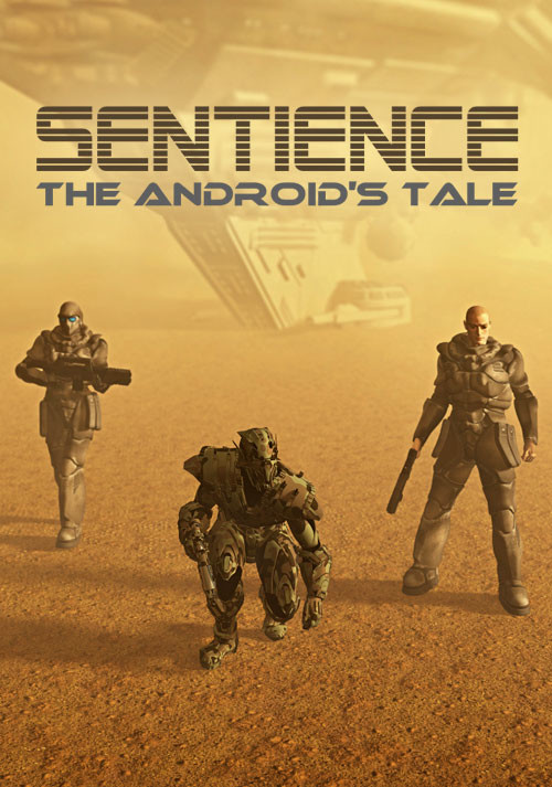 Sentience: The Android's Tale - Cover / Packshot
