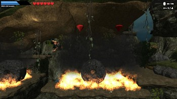 Screenshot2 - Caveman World: Mountains of Unga Boonga