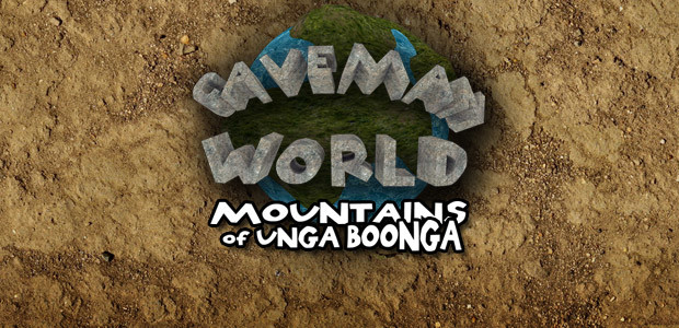 Caveman World: Mountains of Unga Boonga - Cover / Packshot