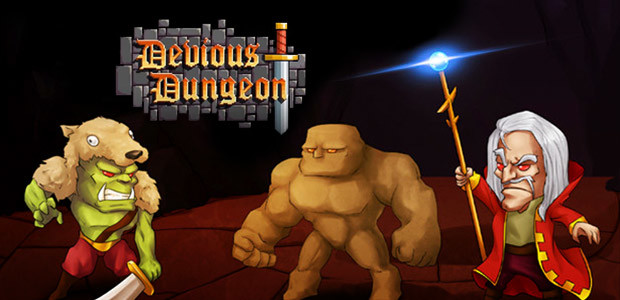 Devious Dungeon - Cover / Packshot