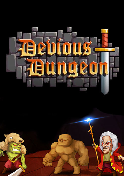 Devious Dungeon - Cover