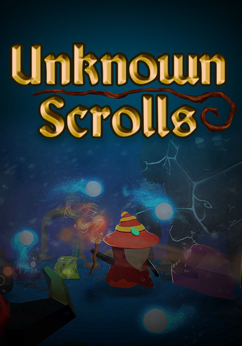 Unknown Scrolls - Cover