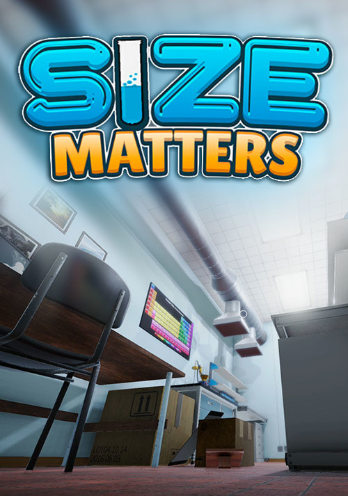 Size Matters - Cover / Packshot