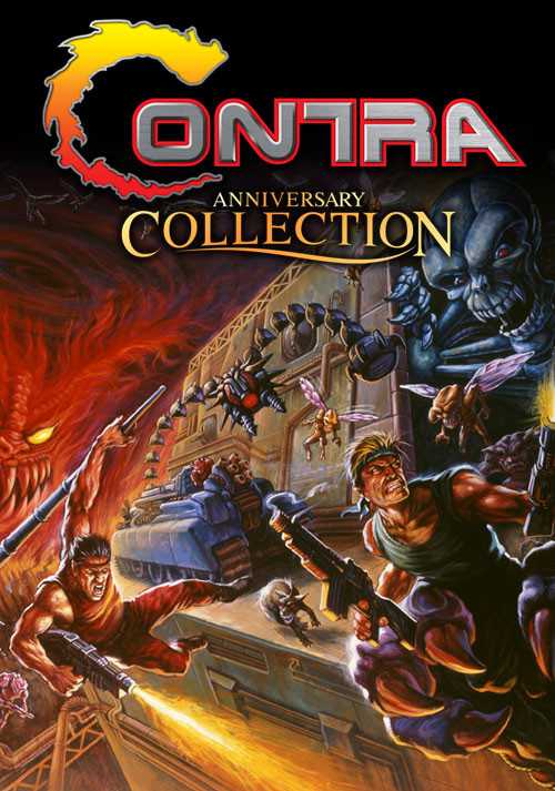 Contra Anniversary Collection - Cover