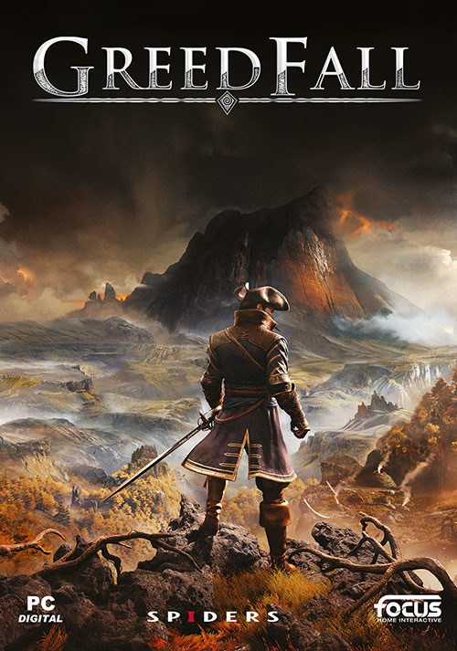 GreedFall - Cover