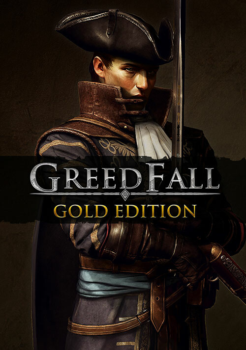 GreedFall - Gold Edition - Cover / Packshot