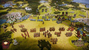 Screenshot1 - Fantasy General II - General Edition