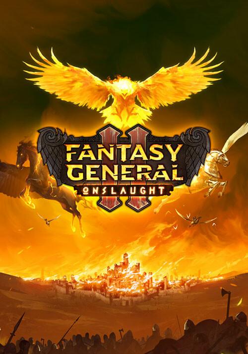 Fantasy General II: Onslaught - Cover / Packshot