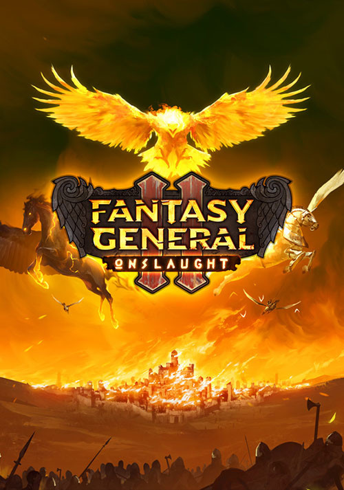 Fantasy General II: Onslaught - Cover / Packshot