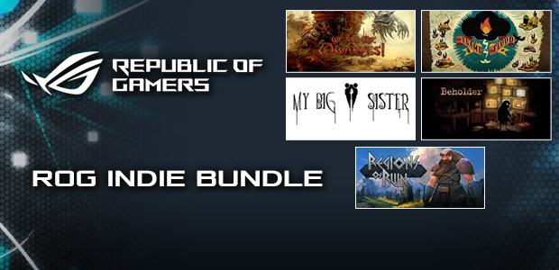ROG Indie Bundle - Cover / Packshot