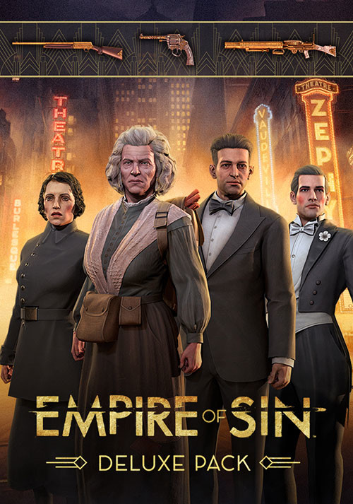 Empire of Sin - Deluxe Pack - Cover / Packshot