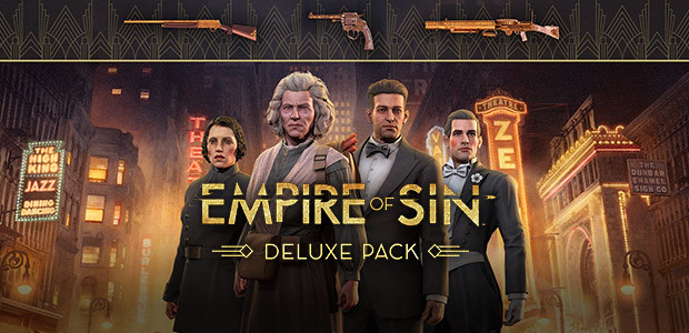 Empire of Sin - Deluxe Pack - Cover / Packshot