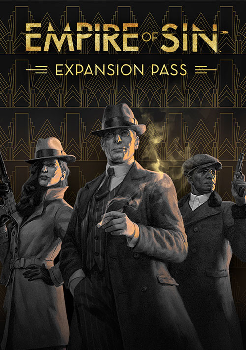 Empire of Sin - Expansion Pass - Cover / Packshot