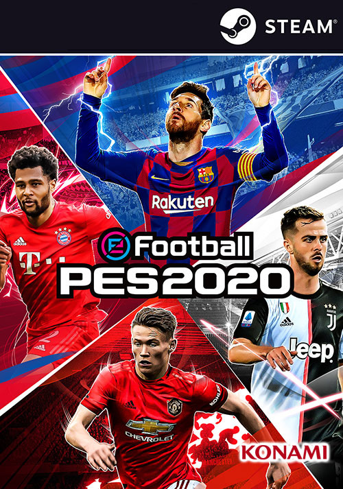 eFootball PES 2020 - Cover