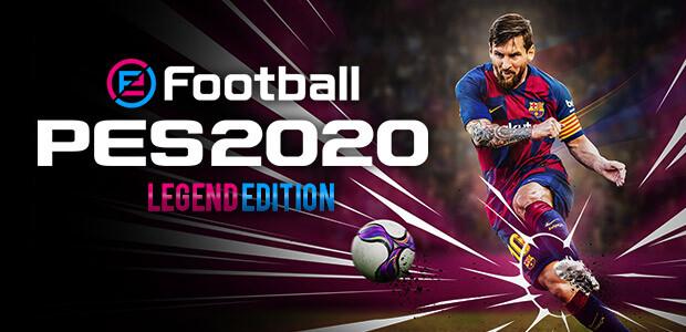 eFootball PES 2020 Legend Edition - Cover / Packshot