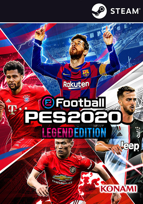eFootball PES 2020 Legend Edition - Cover / Packshot