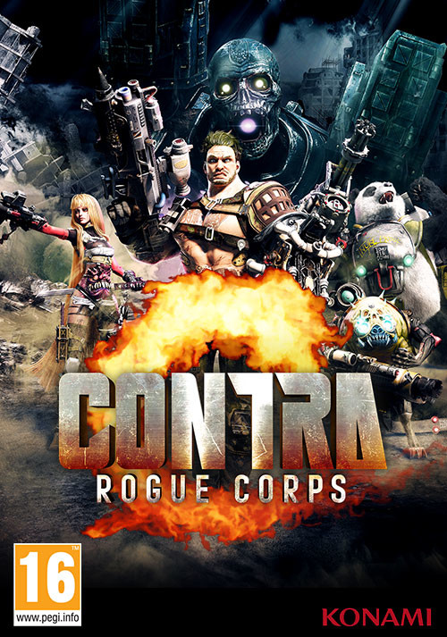 Contra Rogue Corps - Cover