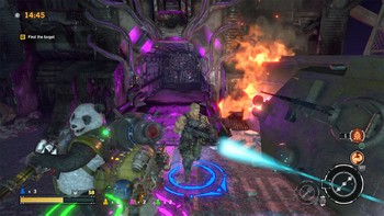 Screenshot1 - Contra: Rogue Corps