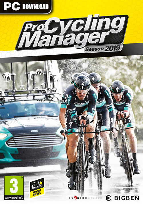 Pro Cycling Manager 2019 - Cover