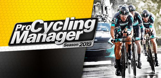 Pro Cycling Manager 2019 - Cover / Packshot