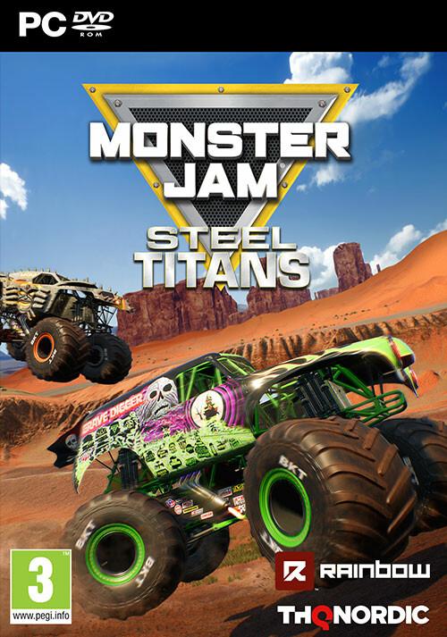 Monster Jam Steel Titans - Cover / Packshot