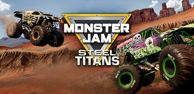 Monster Jam Steel Titans - Cover / Packshot