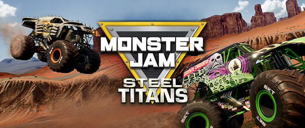 Monster Trucks reign in the launch trailer for Monster Jam Steel Titans!