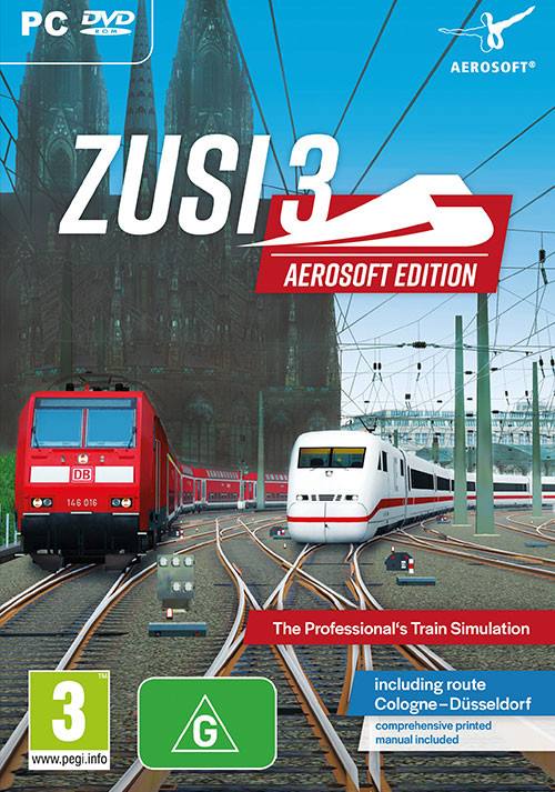 ZUSI 3 - Aerosoft Edition - Cover / Packshot
