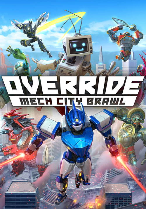Override: Mech City Brawl - Cover / Packshot