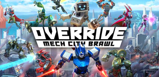 Override: Mech City Brawl - Cover / Packshot