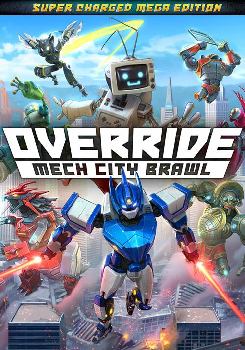Override: Mech City Brawl - Super Charged Mega Edition - Cover / Packshot