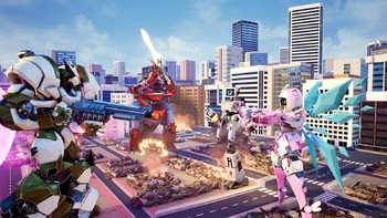 Screenshot3 - Override: Mech City Brawl - Super Charged Mega Edition