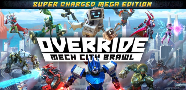 Override: Mech City Brawl - Super Charged Mega Edition - Cover / Packshot