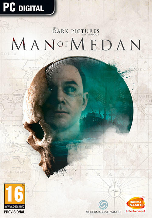 The Dark Pictures Anthology: Man Of Medan - Cover / Packshot