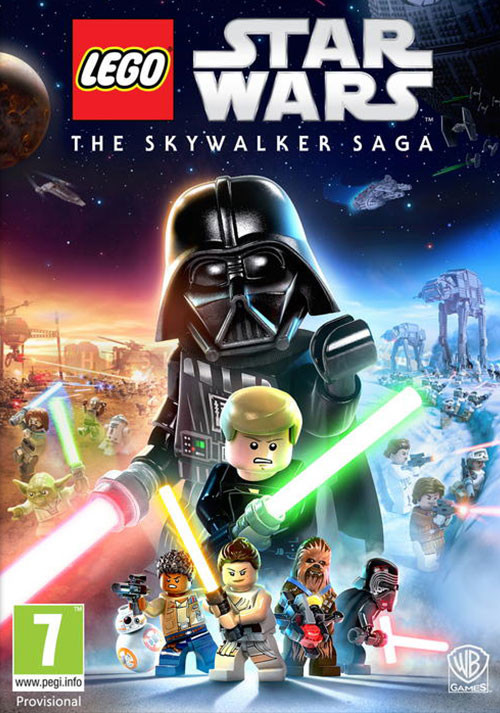 LEGO® Star Wars™: The Skywalker Saga - Cover / Packshot