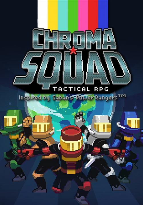 Chroma Squad - Cover / Packshot