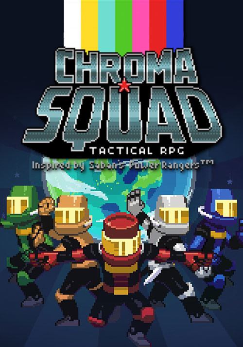 Chroma Squad - Cover / Packshot