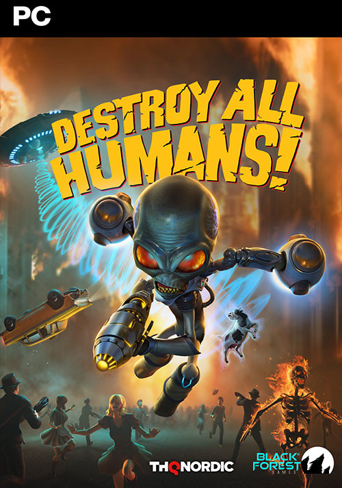 Destroy All Humans! - Cover / Packshot