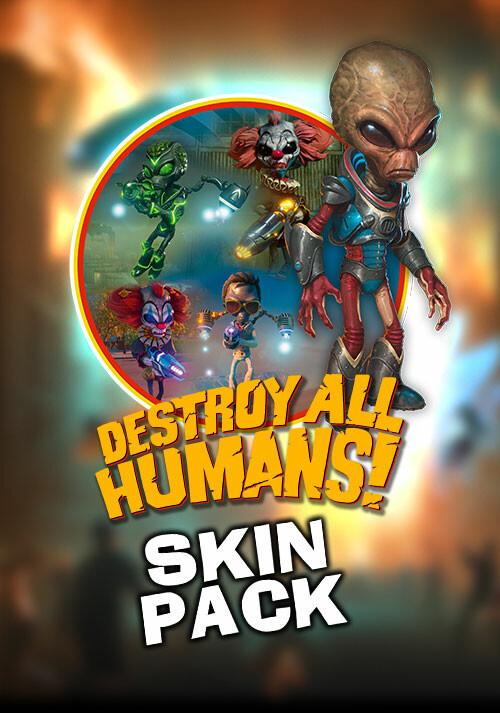 Destroy All Humans! Skin Pack - Cover / Packshot
