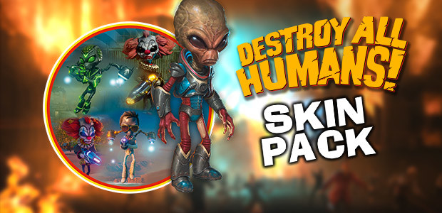 Destroy All Humans! Skin Pack - Cover / Packshot