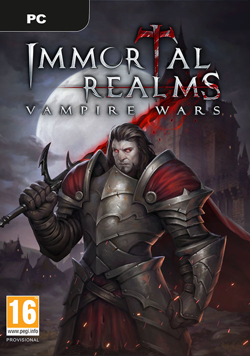 Immortal Realms: Vampire Wars - Cover