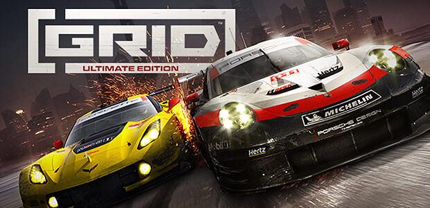 GRID Ultimate Edition - Cover / Packshot